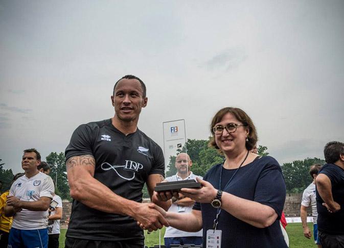 FIE IDP Rugby design trofeo Paolo Albano Architetto Como