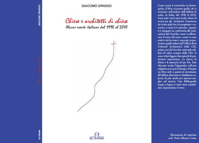 Architetto Paolo Albano Como Design Copertina libro DEFERRARI
