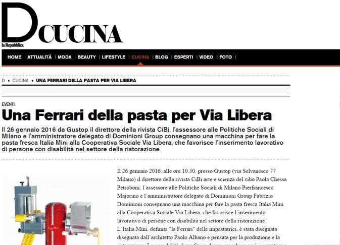 D La Repubblica Cucina