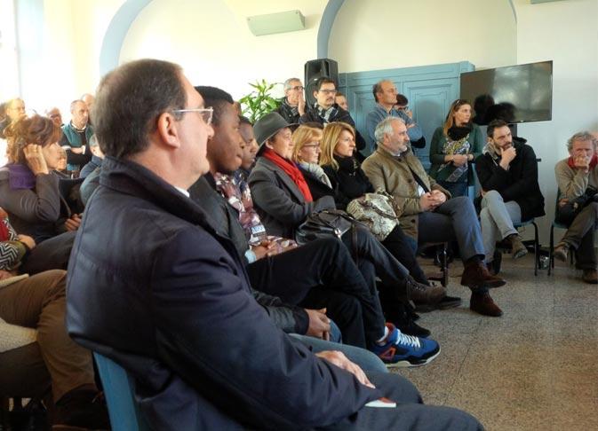Inaugurazione Villa Calderara Exodus Presentazione Paolo Albano Architetto Como