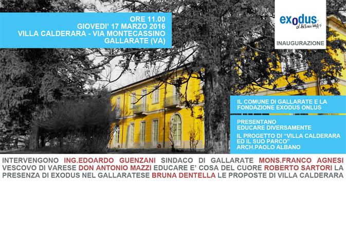 Inaugurazione Villa Calderara Exodus Paolo Albano Architetto Como