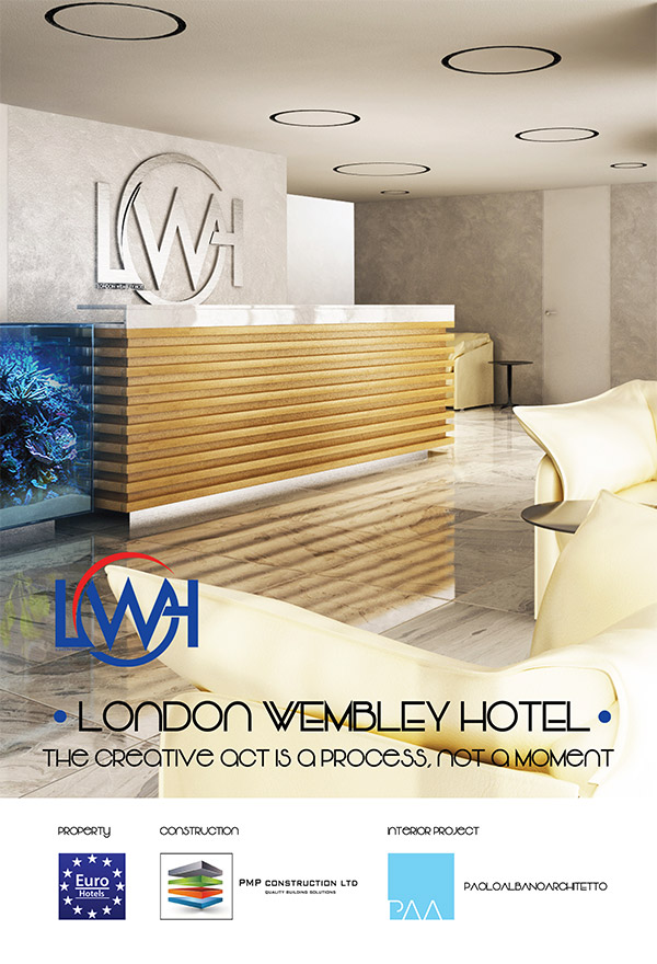 London Wembley Hotel Paolo Albano Architetto Como