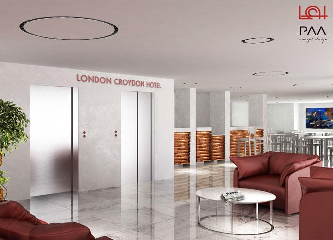 London Croydon Hotel Paolo Albano Architetto Como