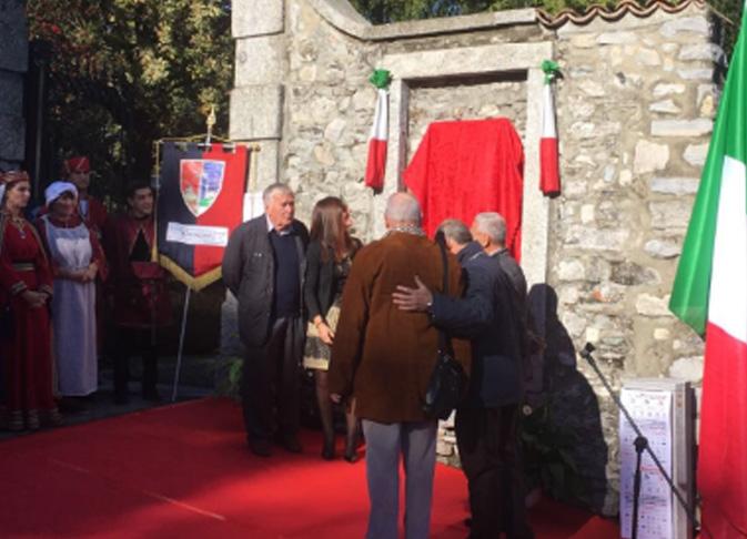 Evento inaugurazione targa Rivarossi Villa Baragiola Paolo Albano Architetto Como