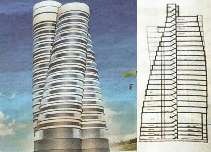 The Spiral Teheran Paolo Albano Architetto Como