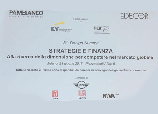 Architetto Paolo Albano Alla ricerca della dimensione per competere nel mercato globale