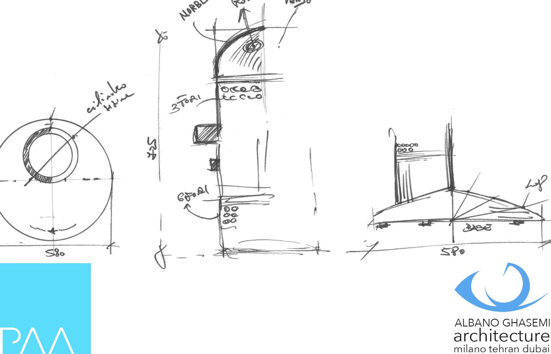 paolo albano architetto design exhibition progettazione architettonica industrial design graphic design PAA slider attico lago